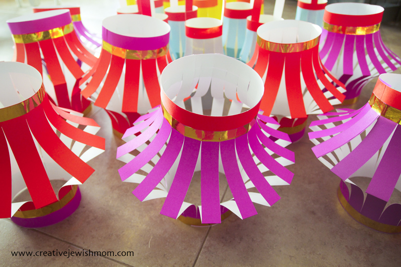 Paper Lanterns DIY quick