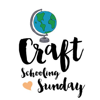 Craft schooling sunday title art square