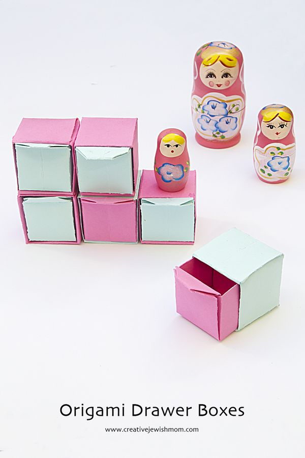 Origami Pull Out Drawers Make Sweet Gift Boxes Creative