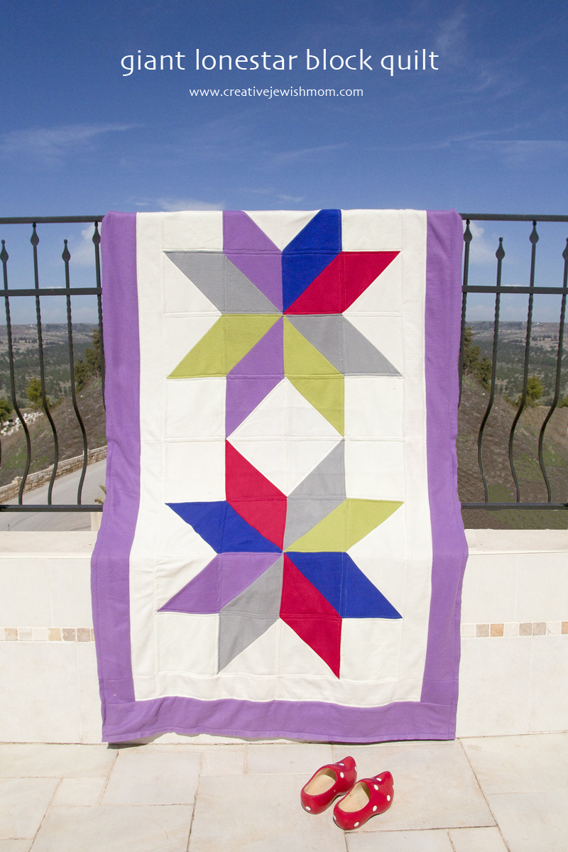 Giant Lonestar Quilt With Fleece