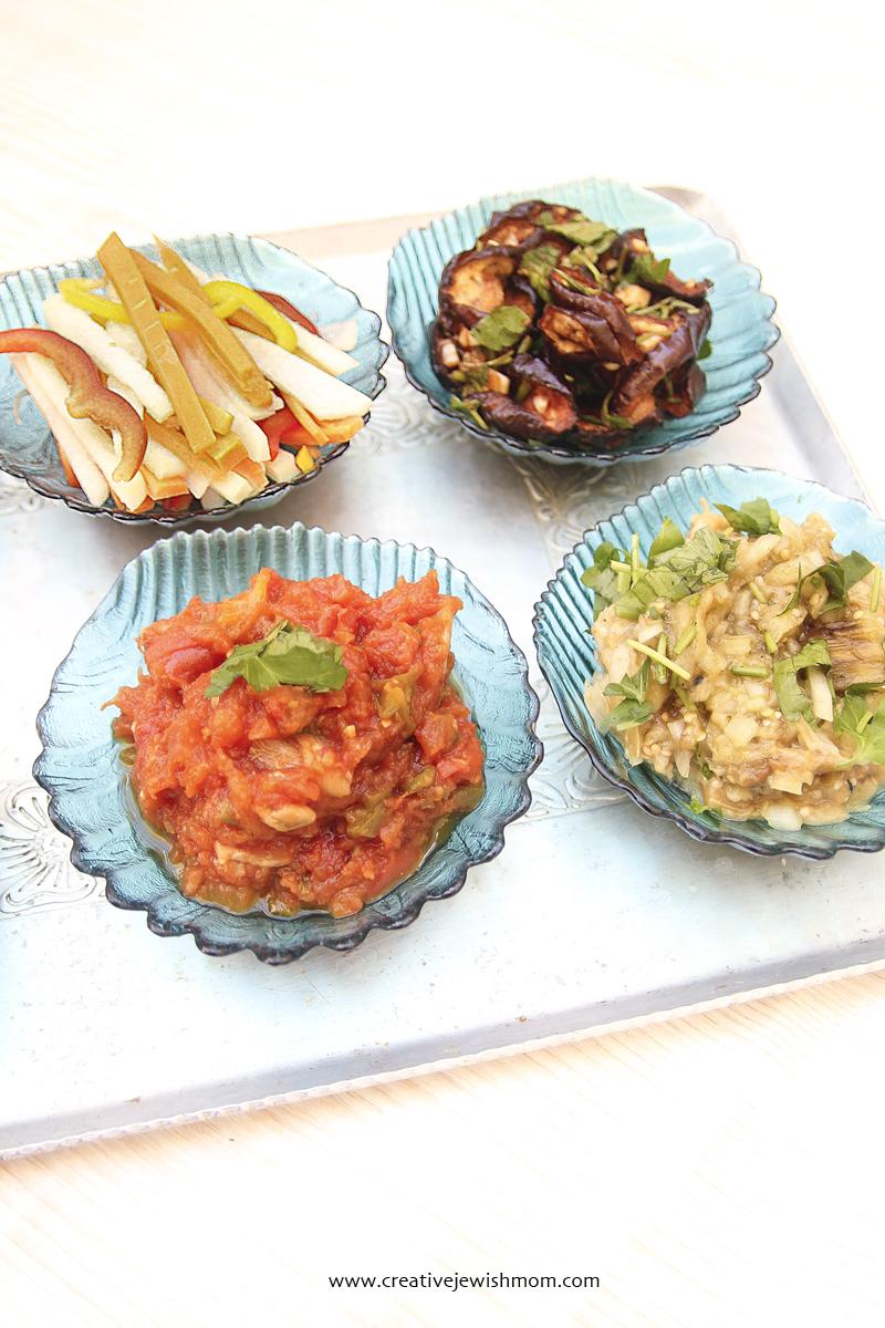 Matbucha Moroccan Salad