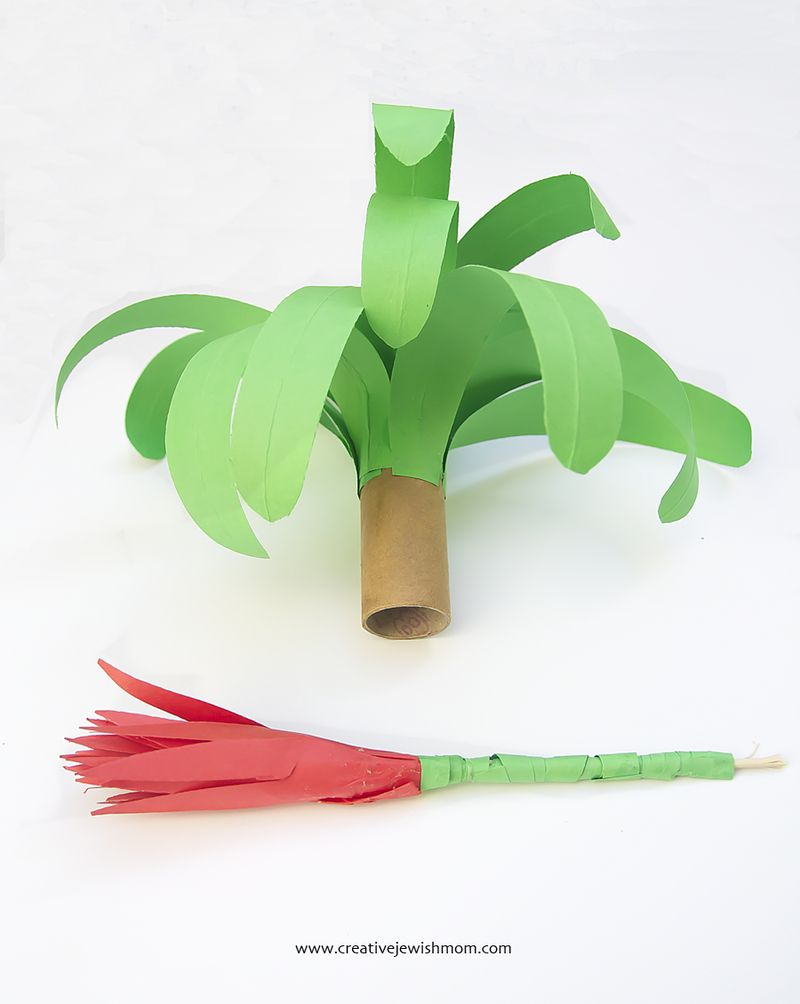Paper Plant How To Make Plant and Paper Flower