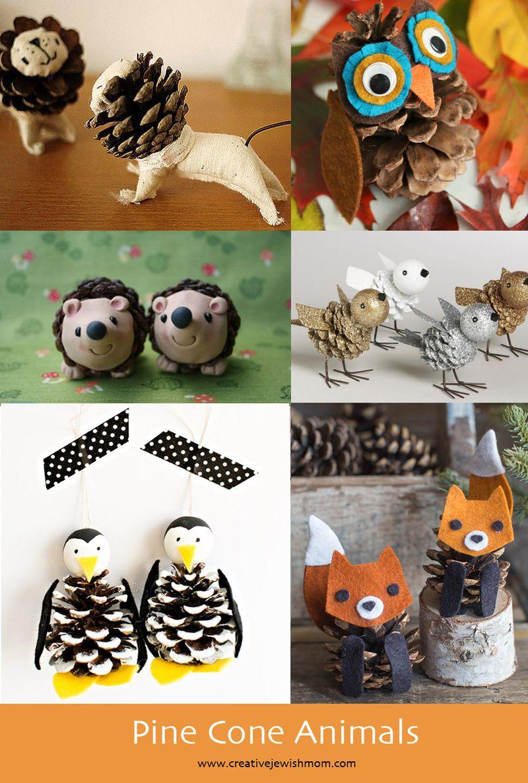 Pine Cone Animals Crafts