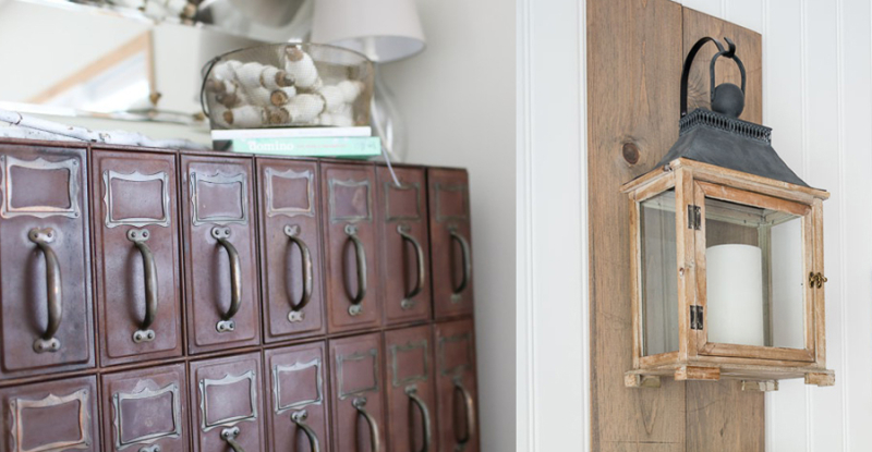 How to de-rust a metal vintage cabinet,hanging lantern wall decor