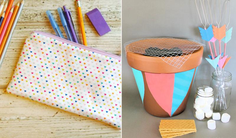 DIY Pencil case,mini semore kit with pot barbeque