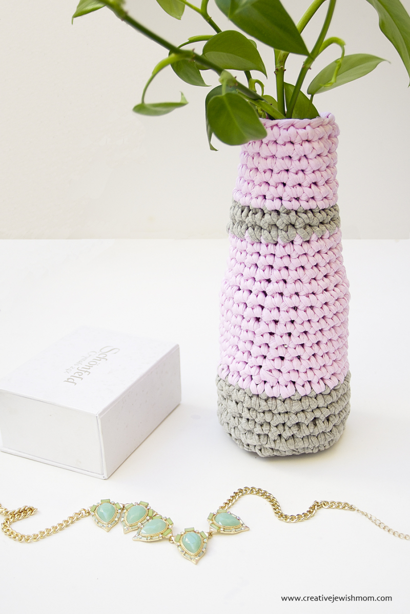 Crocheted Vase Quick