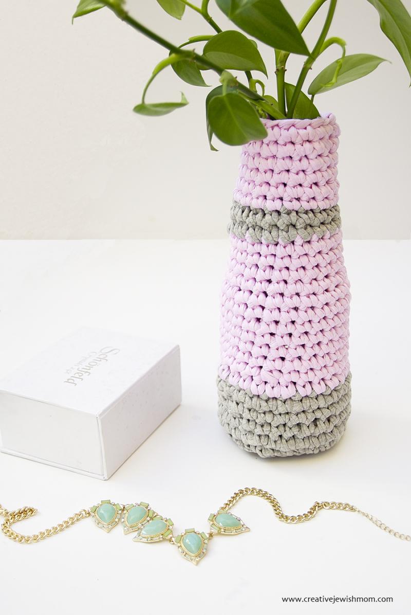Crocheted Vase Quick
