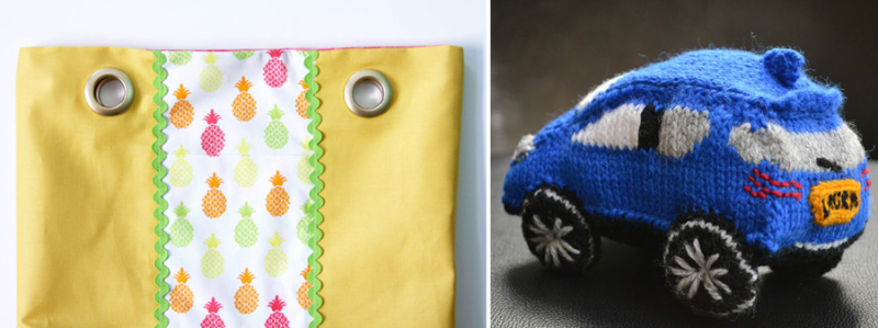 Knit lexus, how to put grommets in a purse