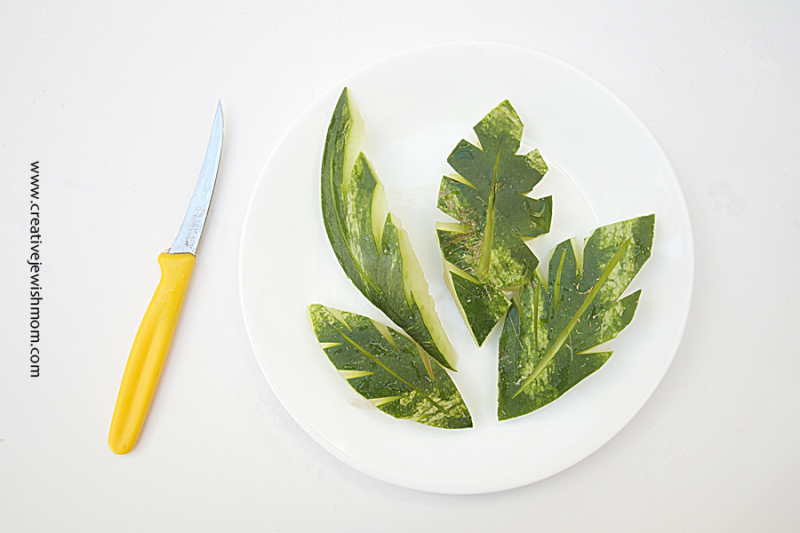 Watermelon Rind Leaves How To