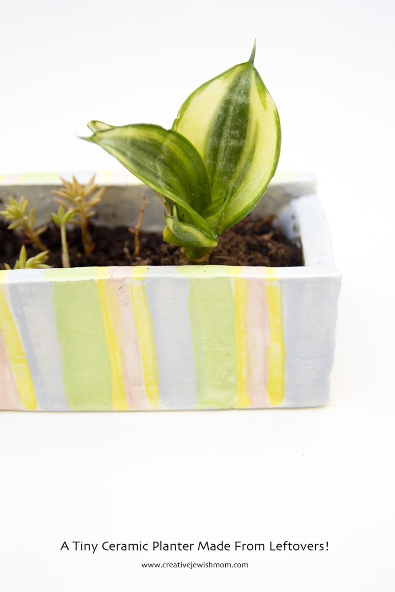 Ceramic Planter Small Slab Built