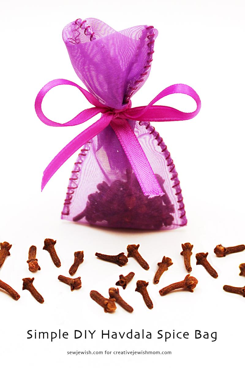 Havdala DIY spice bag simple