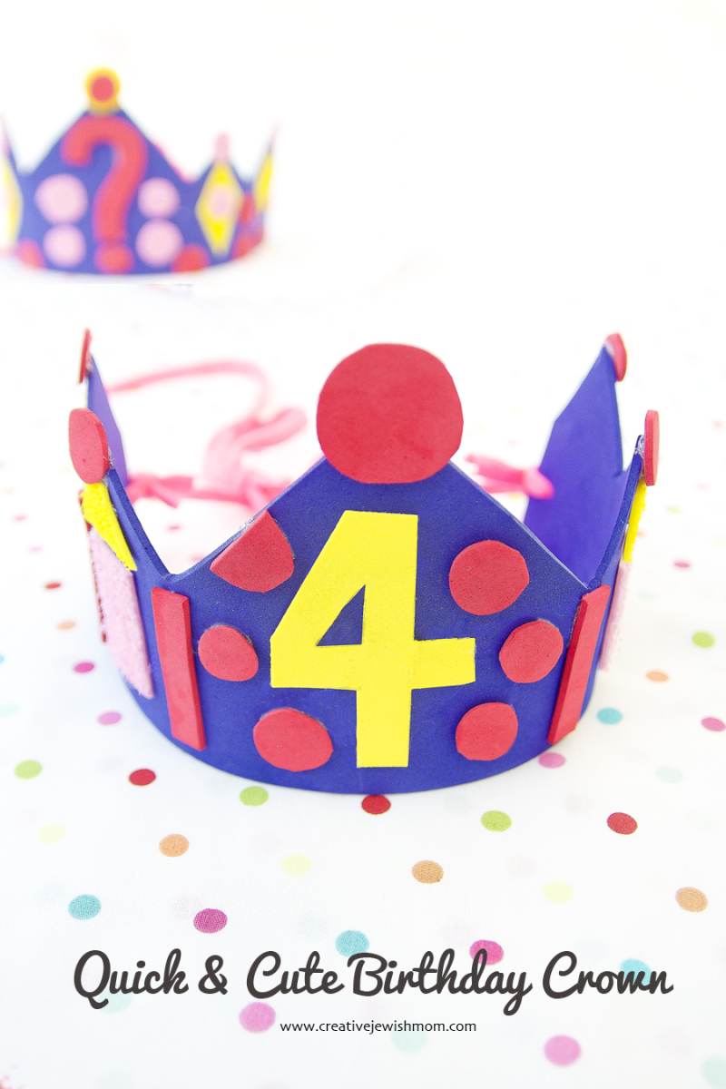 Birthday Crown Quick and cute