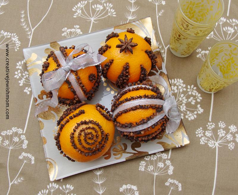 Orange Pomanders With cloves crafts