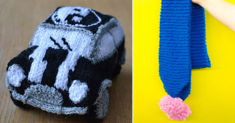Knit cooper mini yan yang,chunky knit pom pom scarf