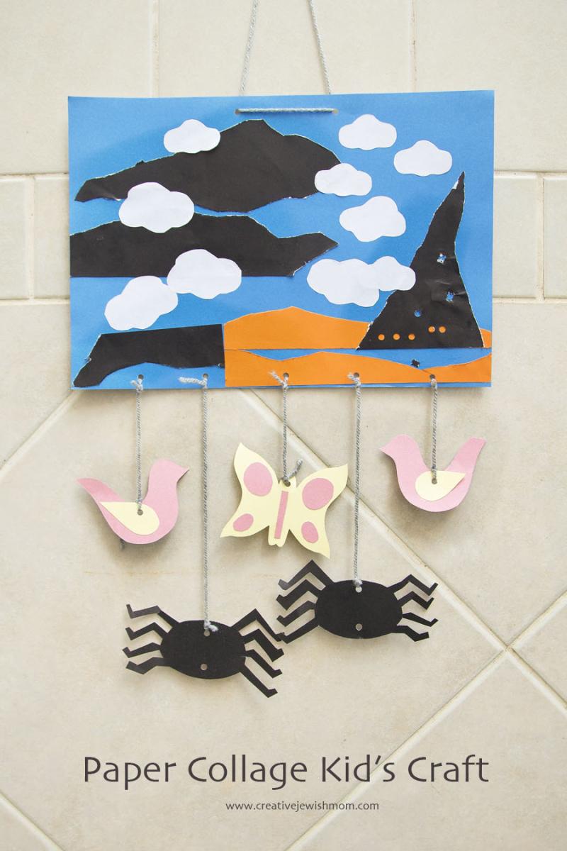Paper Collage Kid's Craft
