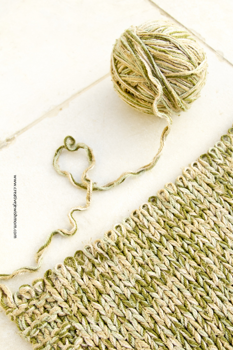 Recycling Yarn From Old Knits