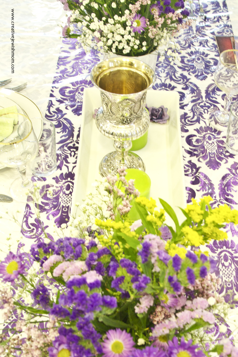 Passover Elijaha's Cup On Table