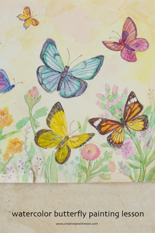 Watercolor Butterflies...