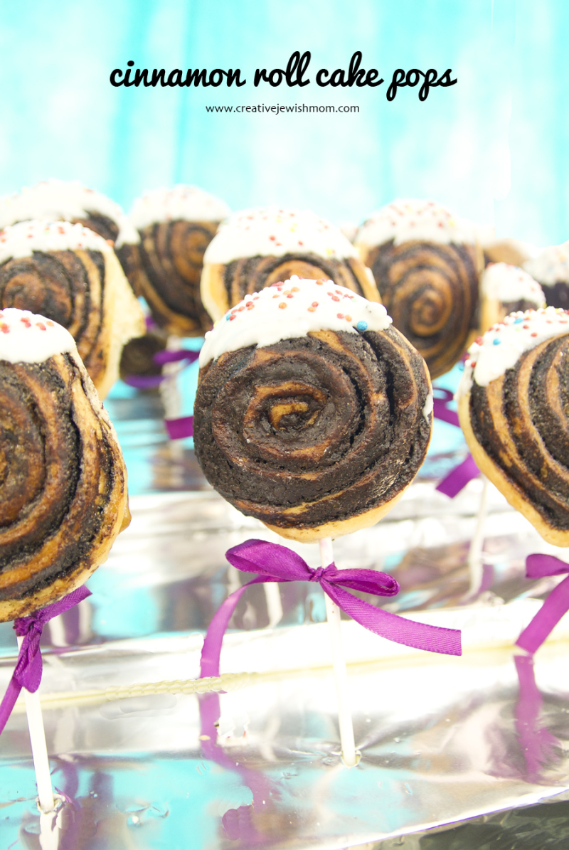 Cinnamon roll cake pops to make in a pinch