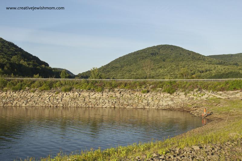 Cannonsville Resevoir shoreline