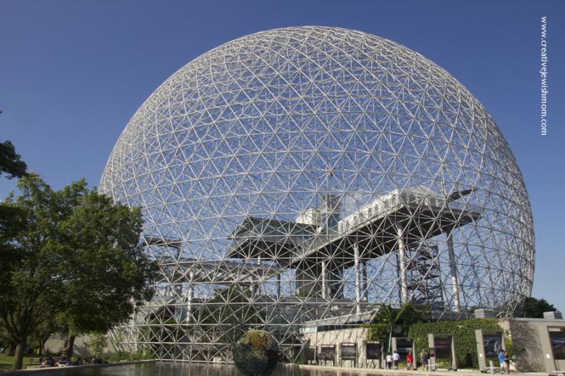 Montreal Biodome structure