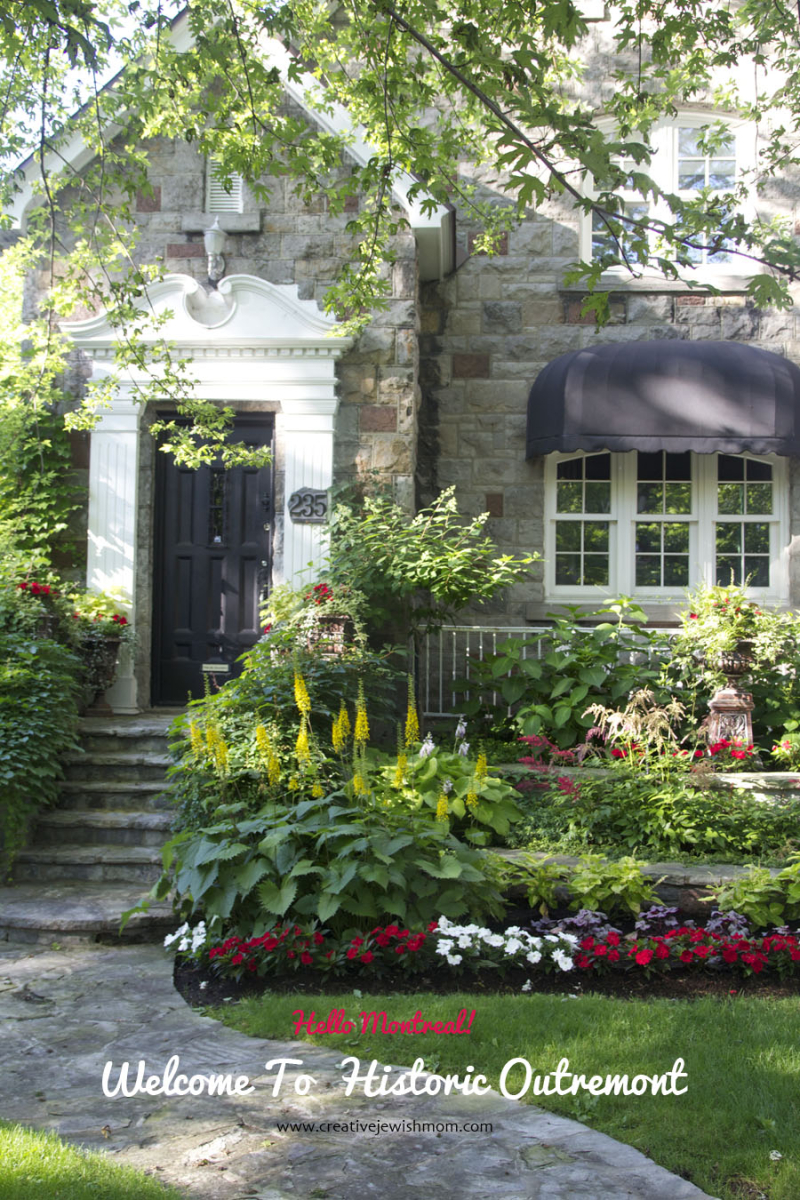 Montreal Outremont stone storybook home
