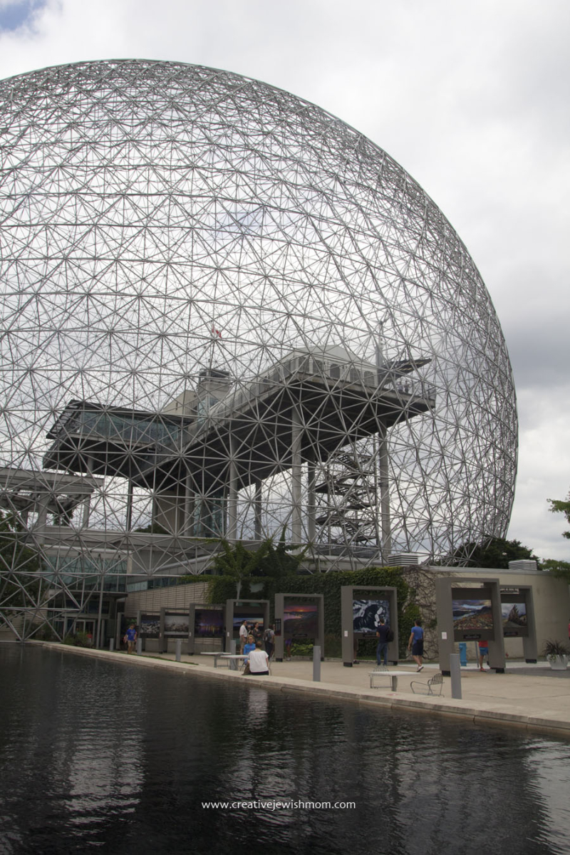 Montreal Biosphere With Pool