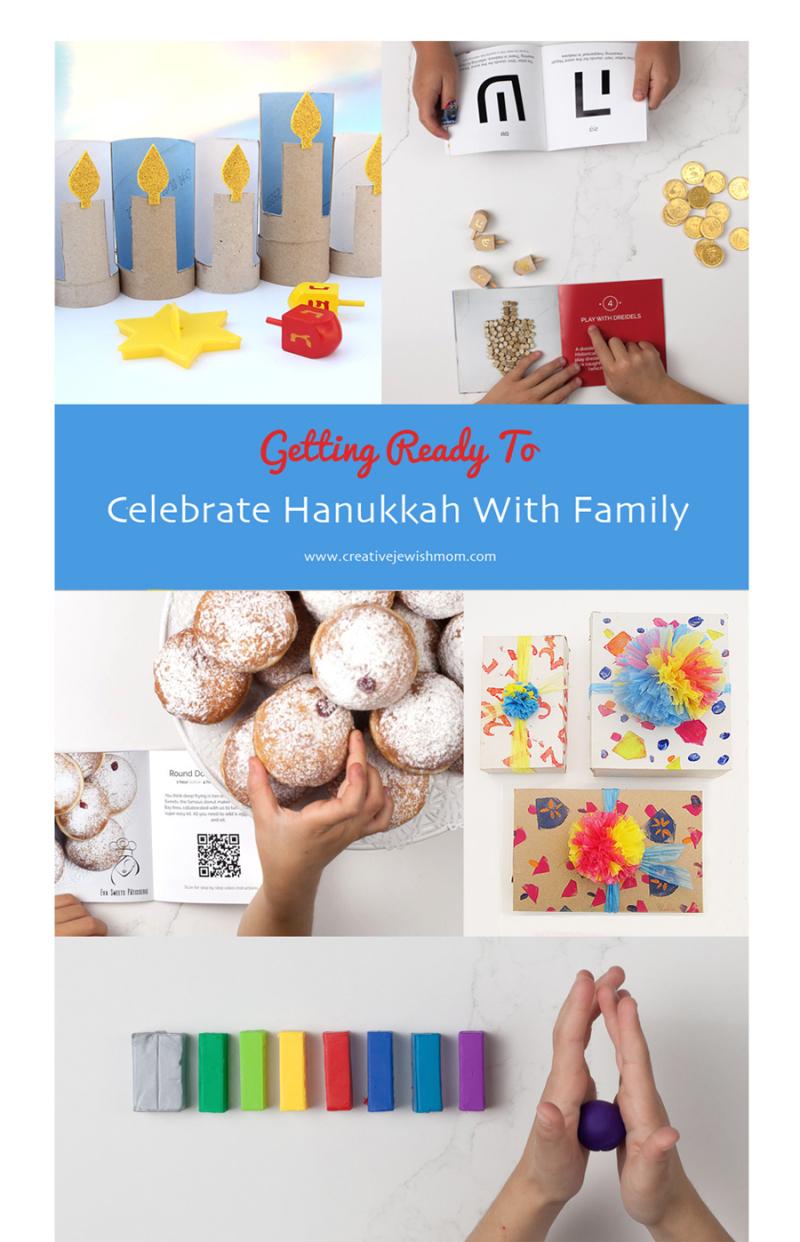 Hanukkah Celebrating With Family