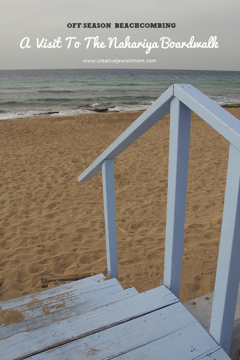 Nahariya Boardwalk Beach Stairs
