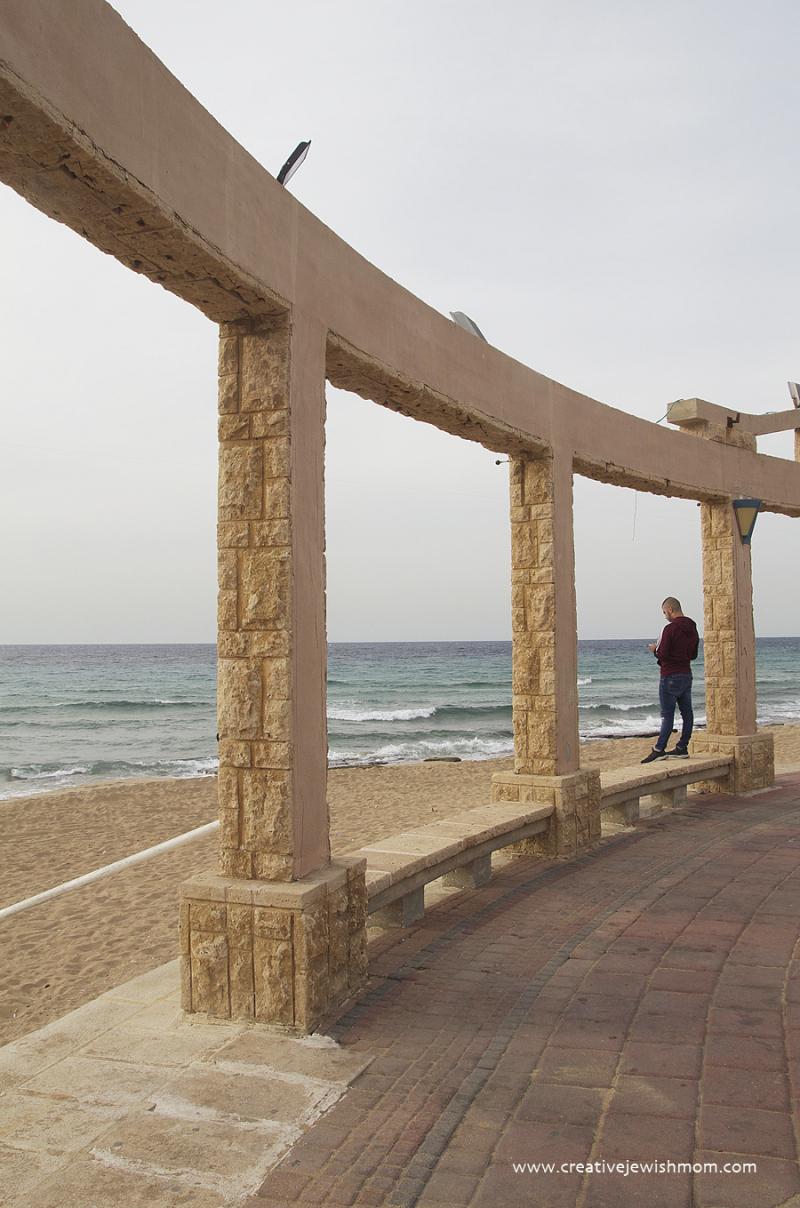 Nahariya Beach Off Season