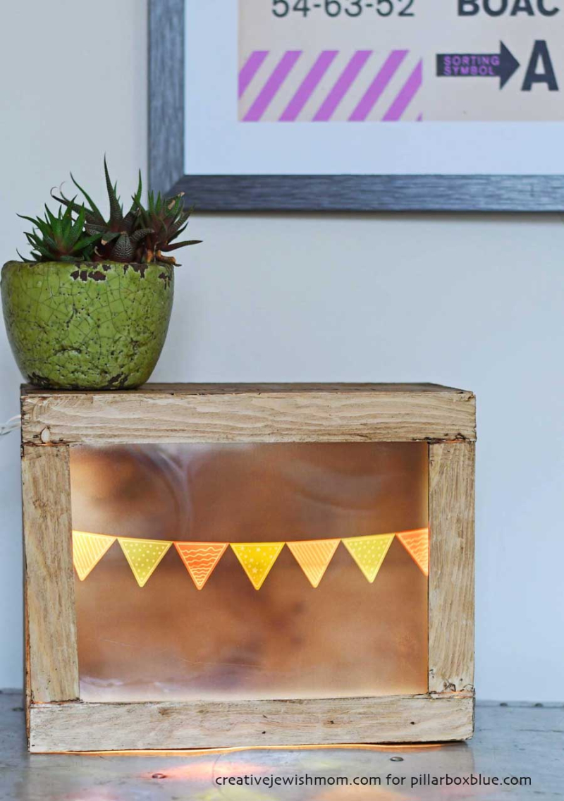 DIY decorative light box
