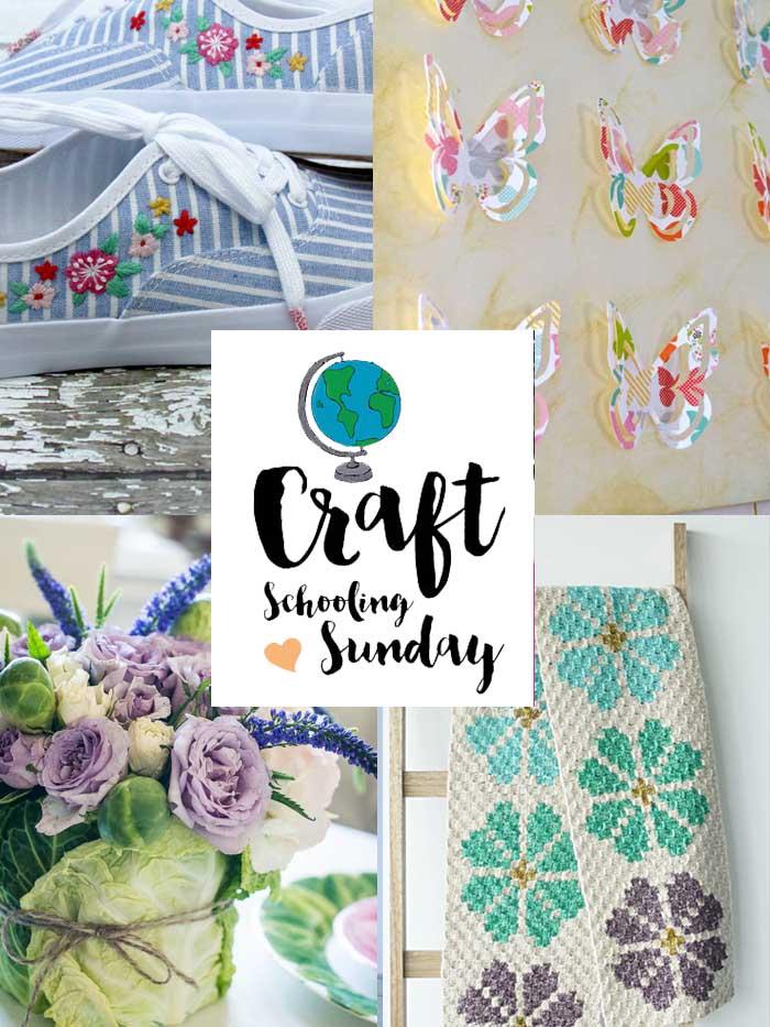 Craft schooling sunday collage