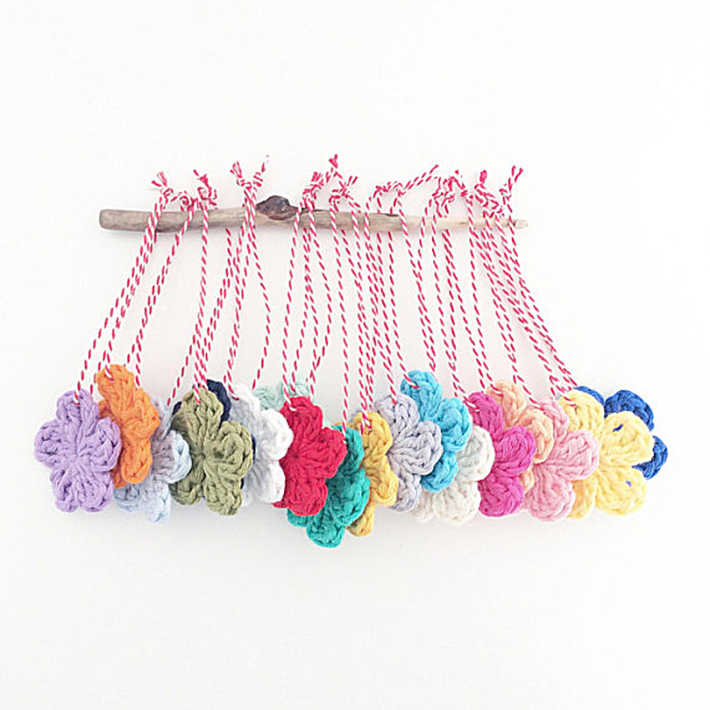 Crocheted-flowers-simple