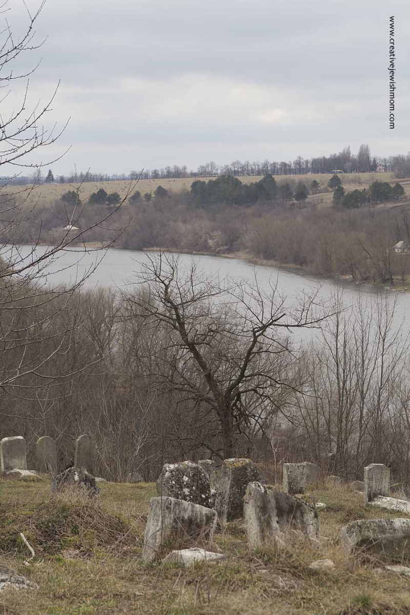 Old Jewish Cemetary Bratslav Overlooking Bug River