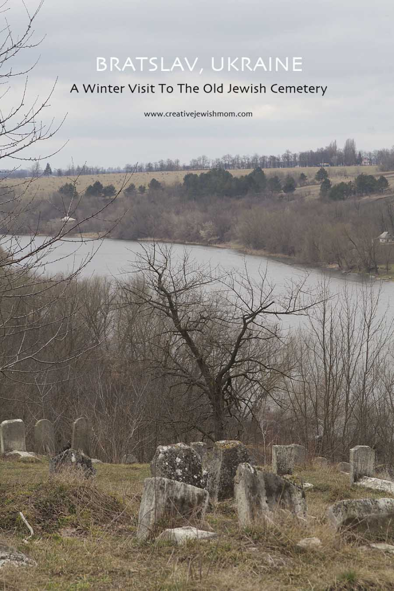 Old Jewish Cemetary Breslev Ukraine Overlooking Bug River