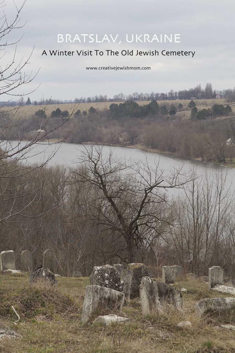 Old Jewish Cemetary Breslev Ukraine Overlooking Bug River