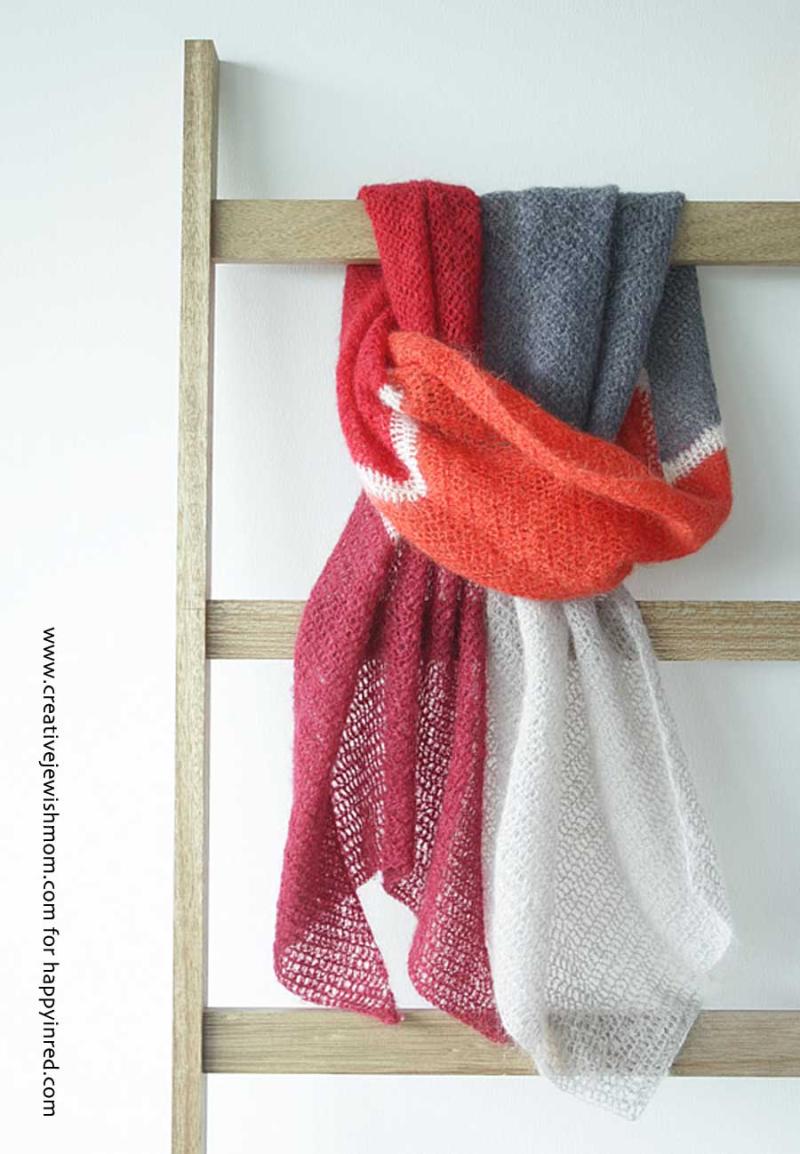 Crocheted-loose-weave-shawl
