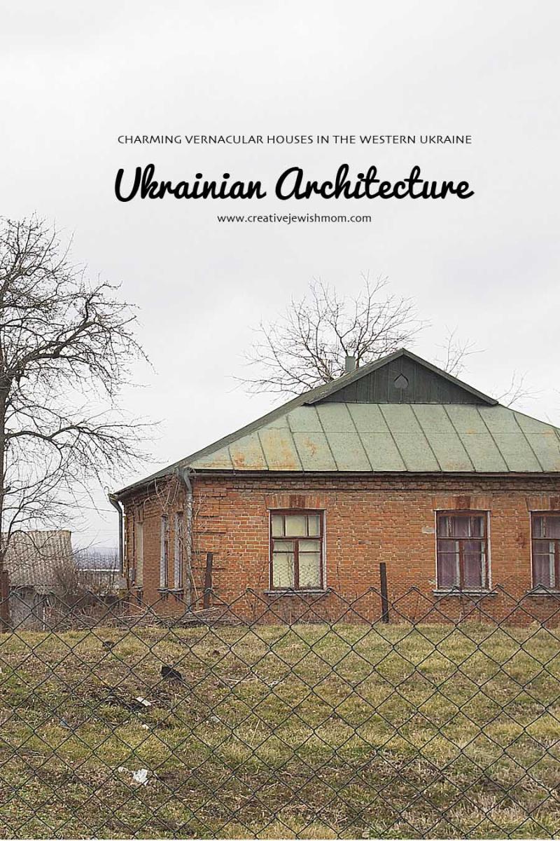 Ukranian architecture vernacular brick home
