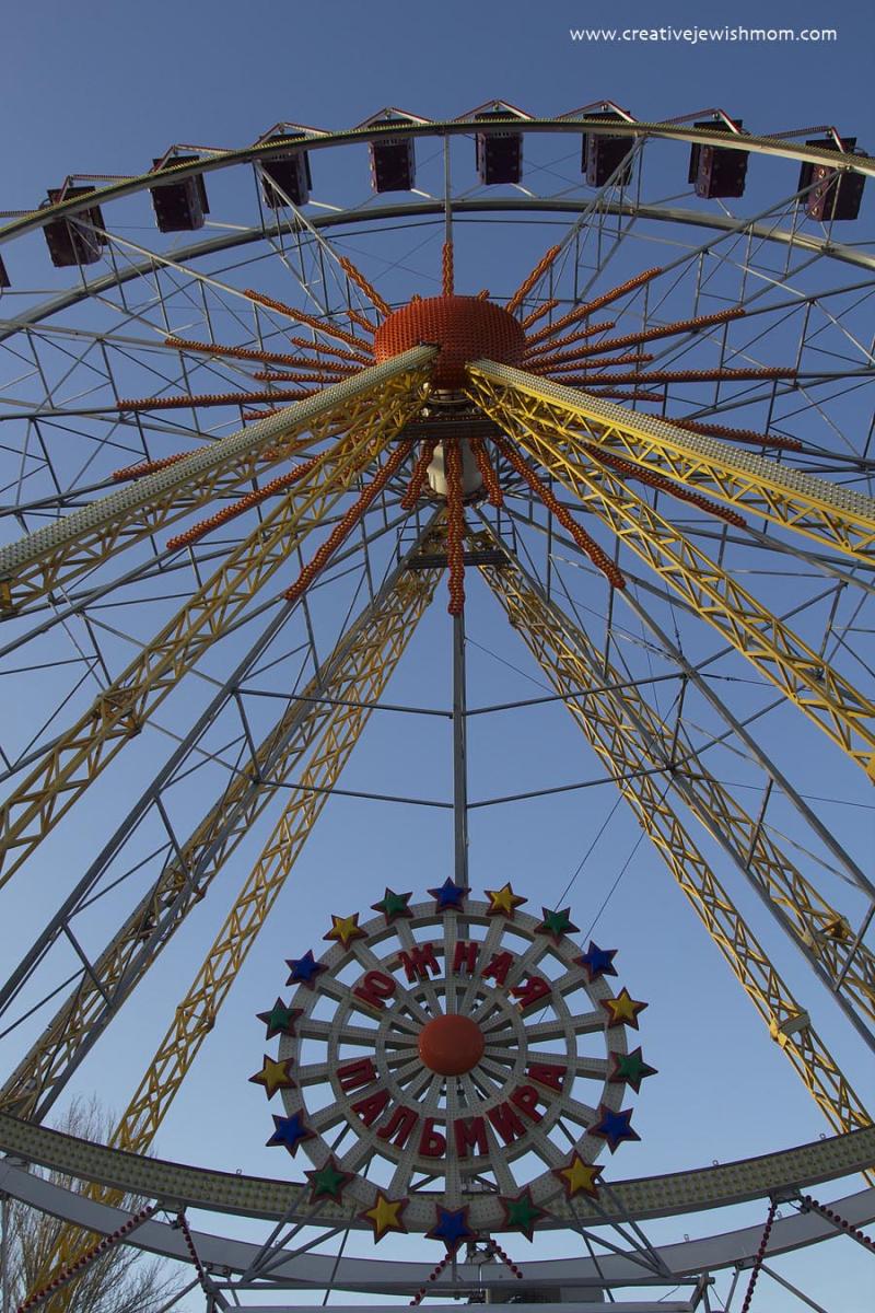 Odessa Ferris Wheel Looking Up