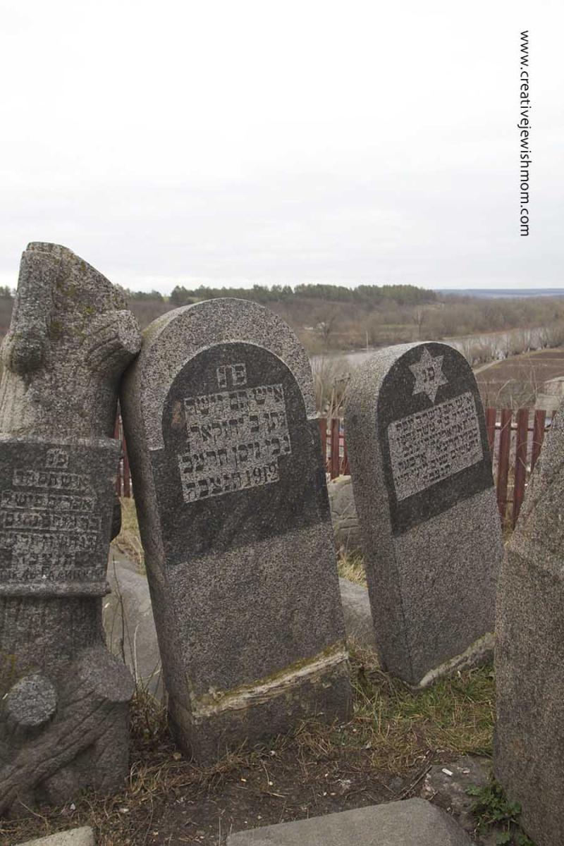 Breslev Gravesite New Headstones