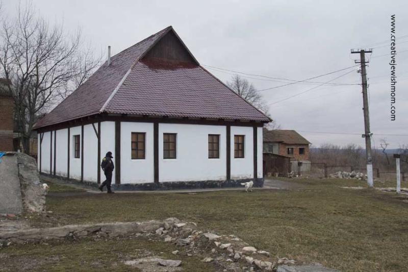 Baal Shem Tov's Shul Medzhybizh Ukraine