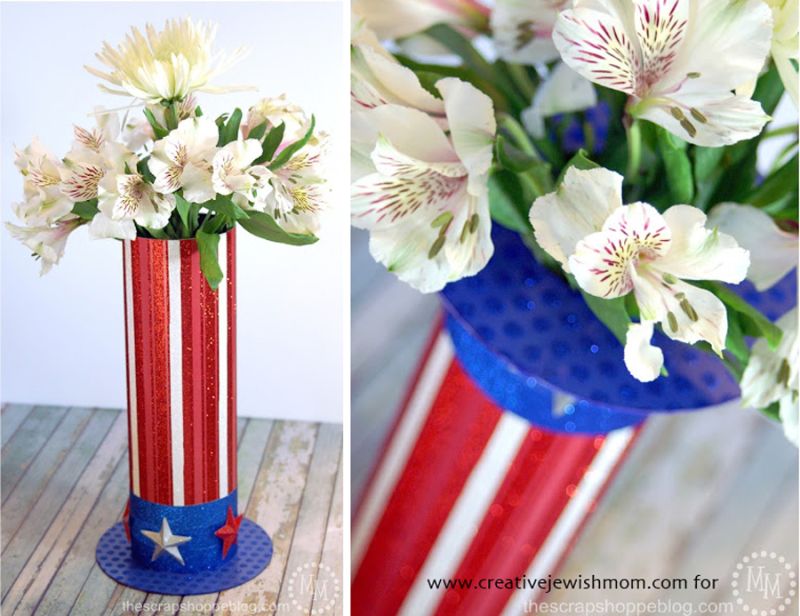 Patriotic-uncle-sam-hat-centerpiece