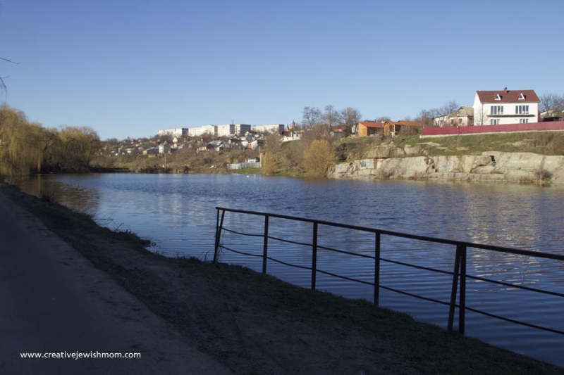 Uman Ukraine Pond For Tashlich