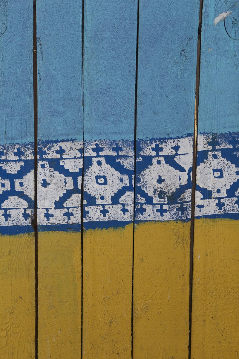 Wall Stencil Of Traditional Ukrainian Embroidery