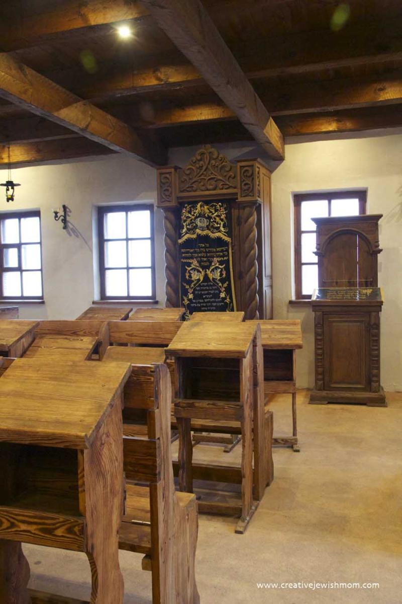 Baal Shem Tov's Historic Shul Interior