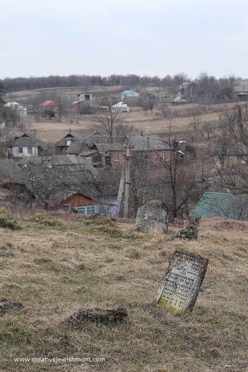 Baal Shem Tov Gravesite  Ukraine