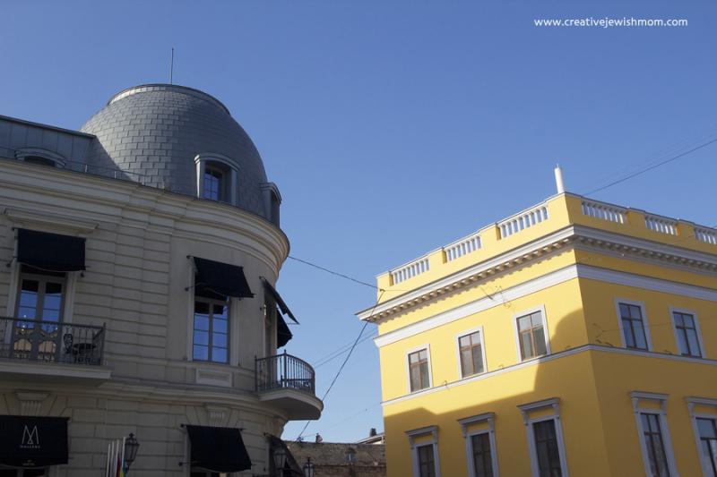 Odessa Ukraine Architecture Beaux Arts Dome