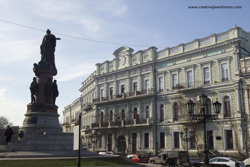 Odessa  Ukraine Architecture Green Building