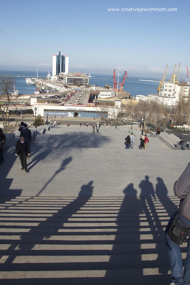 Primorsky steps  Odessa Ukraine