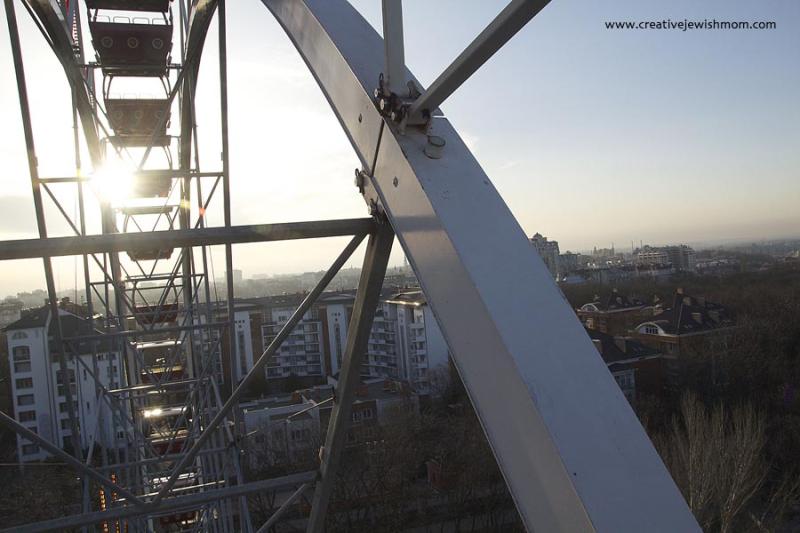 Odessa Ferris Wheel View Low